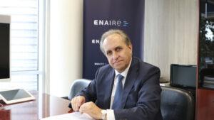 El director general de ENAIRE, Ángel Luis Arias, destaca los buenos resultados obtenidos en las últimas colaboraciones entre las dos instituciones